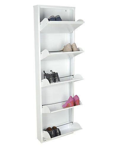 scarpiera-bianca-aperta-con-scarpe-grande